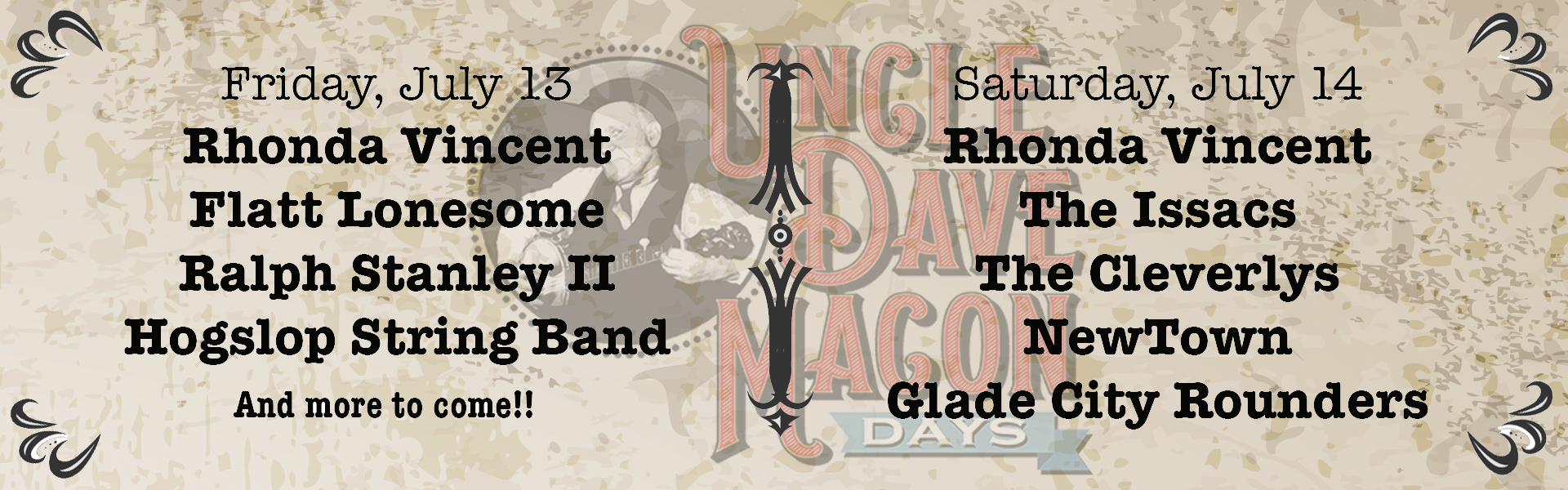 Uncle Dave Macon Days – 2018